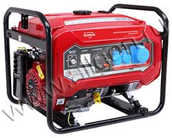 Портативный генератор Elitech БЭС 8000РМ мощностью 6.5 кВт)