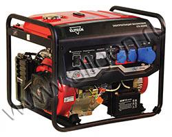 Портативный генератор Elitech СГБ 8000Е мощностью 6.5 кВт)