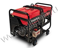 Портативный генератор Honda EM 10000 мощностью 9 кВт)
