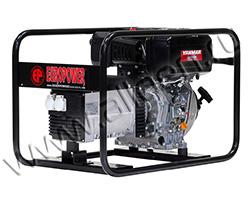 Портативный генератор Europower EP 6000 D мощностью 6 кВт)