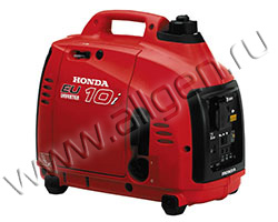 Портативный бензиновый генератор Honda EU 10 i мощностью 1 кВт