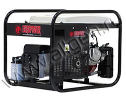Портативный генератор Europower EP 6000 LNE мощностью 6 кВт)