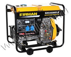 Дизельный генератор FIRMAN SDG5500CLE