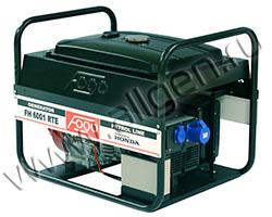 Портативный генератор FOGO FH 6001 RE мощностью 6.16 кВт)