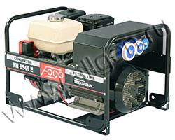 Портативный генератор FOGO FH 8000 мощностью 6.16 кВт)