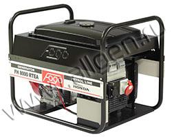 Портативный генератор FOGO FH 8000 T  мощностью 6.16 кВт)
