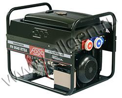 Портативный генератор FOGO FH 9540 RTEА мощностью 6.49 кВт)