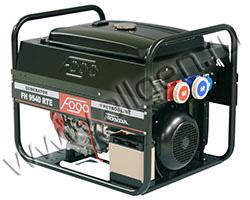 Портативный генератор FOGO FH 9540 RTE мощностью 6.49 кВт)