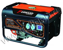 Портативный генератор Forward FGG-8000ES мощностью 6.5 кВт)