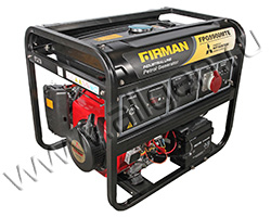 Портативный генератор FIRMAN FPG5900MTE мощностью 5.6 кВт)