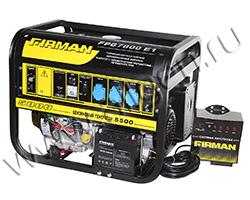 Портативный генератор FIRMAN FPG7800E1+ATS мощностью 5.5 кВт)