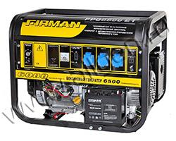 Портативный генератор FIRMAN FPG8800E1 мощностью 6.5 кВт)