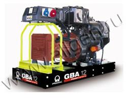 Портативный генератор Pramac GBA12L мощностью 8.8 кВт)