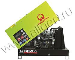 Дизельный генератор Pramac GSL22D мощностью 17.2 кВт