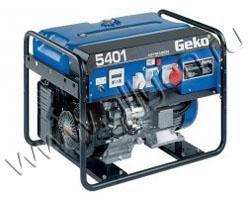 Портативный бензиновый генератор Geko 5401 ED -AА/HHBA мощностью 4 кВт