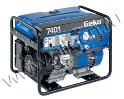 Портативный генератор Geko 7401 E -AА/HHBA мощностью 6.4 кВт)