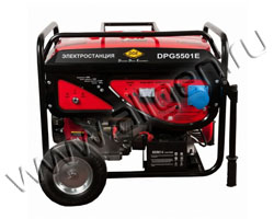 Портативный генератор DDE DPG5501E мощностью 5.5 кВт)