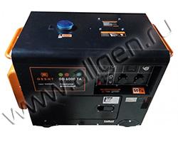 Портативный генератор Gesht GD6000TA мощностью 6 кВт)