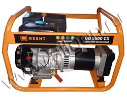Портативный генератор Gesht GG5500CX мощностью 5.5 кВт)