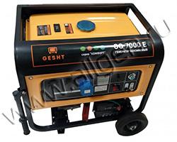 Портативный бензиновый генератор Gesht GG7000E мощностью 7 кВт