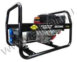 Портативный генератор DDE GG5500Z мощностью 5.5 кВт)
