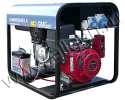 Портативный генератор GMGen GMH8000ELX мощностью 5.8 кВт)
