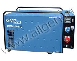 Портативный генератор GMGen GMH8000TS мощностью 6 кВт)