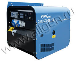Бензиновый генератор GMGen GML5000ESX