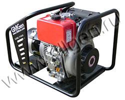Портативный генератор GMGen GML7500 мощностью 5.6 кВт)