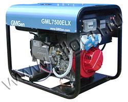 Портативный генератор GMGen GML7500ELX мощностью 5.6 кВт)