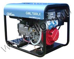 Портативный генератор GMGen GML7500LX мощностью 5.6 кВт)