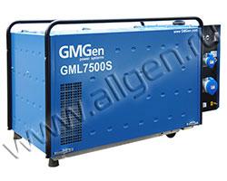 Портативный генератор GMGen GML7500S мощностью 5.6 кВт)
