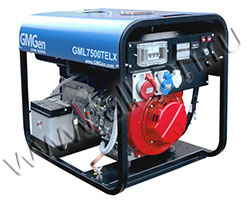 Портативный генератор GMGen GML7500TELX мощностью 5.8 кВт)