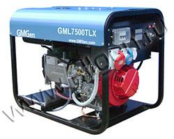 Портативный генератор GMGen GML7500TLX мощностью 5.8 кВт)
