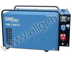 Портативный генератор GMGen GML7500TS мощностью 5.8 кВт)