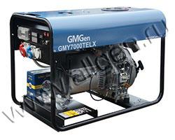 Бензиновый генератор GMGen GMY7000TELX