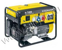 Портативный генератор Eisemann H 7400 E мощностью 5.6 кВт)