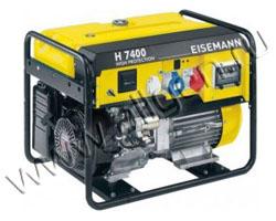 Портативный генератор Eisemann H 7400 E BLC мощностью 5.6 кВт)