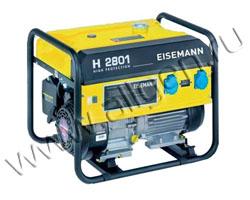 Портативный бензиновый генератор Eisemann H 2801 мощностью 2.53 кВт