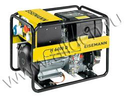 Портативный дизельный генератор Eisemann H 6400 D мощностью 4.9 кВт