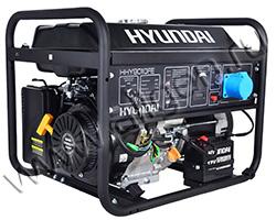 Портативный генератор Hyundai HHY 9010FE мощностью 6.5 кВт)