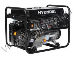 Портативный генератор Hyundai HHY 7000F мощностью 5.5 кВт)