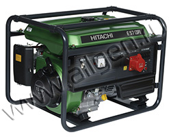 Бензиновый генератор Hitachi E57(3P) (4.6 кВт)