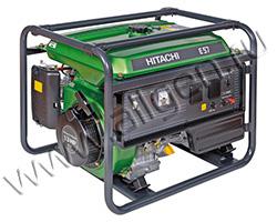 Портативный генератор Hitachi E57 мощностью 5.7 кВт)