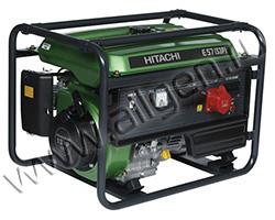Бензиновый генератор Hitachi E57S(3P) (4.6 кВт)