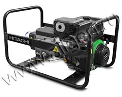 Портативный генератор Hitachi E62SC мощностью 6.2 кВт)