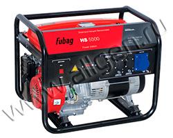 Бензиновый генератор Fubag HS 5500 (5.5 кВт)