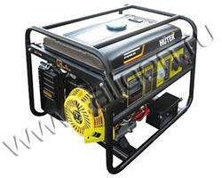 Портативный генератор Huter DY6500LXG мощностью 5.5 кВт)