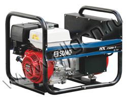 Портативный генератор SDMO HX 7500 T AVR IP54 мощностью 6 кВт)