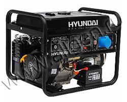 Портативный генератор Hyundai HHY 7020F мощностью 5.5 кВт)